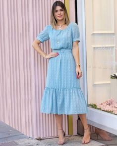 Modest Outfits, Classy Outfits, Beautiful Outfits, Frock Fashion, Modest Fashion, Fashion Dresses, Casual Summer Dresses, Casual Dresses For Women, Indian Designer Outfits