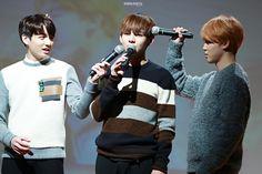 Jungkook, Taehyung and Jimin ❤️