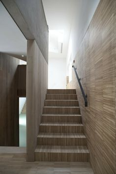 Image 9 of 17 from gallery of Lawson Park / Sutherland Hussey Architects. Courtesy of Sutherland Hussey Architects Stairway To Heaven, Stairways, Cladding, Interior And Exterior, Architects, Park, Gallery, Building, House