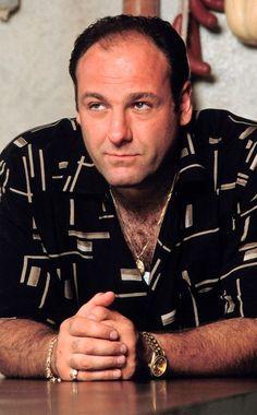 James Gandolfini 1961 - 2013 Tony Soprano from HBO series The Sopranos Died of a heart attack Mafia, Tony Soprano, Television Program, Best Tv Shows, My Guy, Best Actor, Movie Stars, Actors & Actresses, Movie Tv