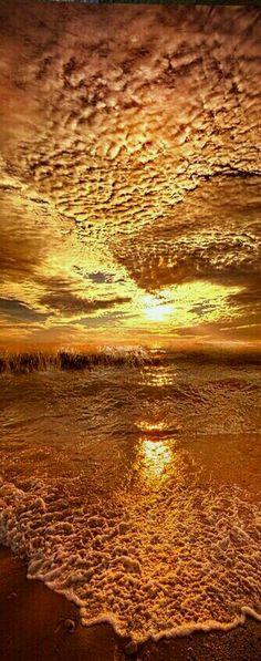 Amazon sunset , amazing clouds
