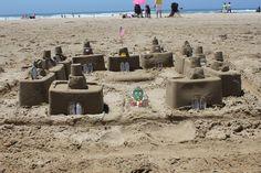 Mr. EGGhead, sand architect!