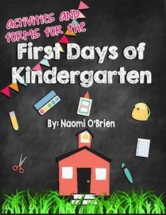 This 110 page download will have you set for your first days of Kindergarten!The download includes plenty of activities to keep your little ones busy and working hard.Anyone that has taught Kindergarten knows that your first few days are spent getting to know the students and figuring out what they know and what they don't know.