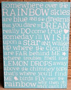 Love this song. Love this canvas.