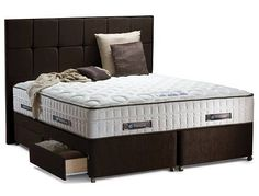 This is the Sealy Lombardo 2400 Pocket Super King Size Bed. Have you seen the price of it here. Thats really cheap
