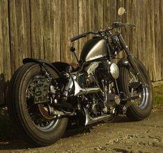 Shovelhead bobber motorcycle | Bobber Inspiration | Bobbers & Custom Motorcycles