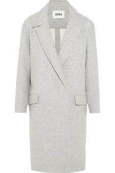 Issa|Robin oversized wool-blend coat|NET-A-PORTER.COM