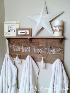 Diy Towel Rack With A Shelf Blogs Featuring D Lawless Home