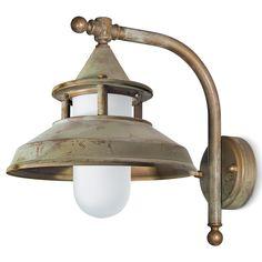 Tuscanor - Exterior Brass Wall Light - TUS126