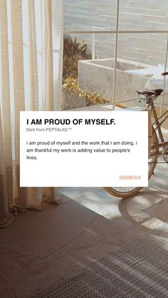 Positive Affirmations Quotes, Affirmation Quotes, Positive Quotes, Proud Of You Quotes, Positive Good Morning Quotes, Note To Self Quotes, Meditation For Stress, Dear Self, Happy Words