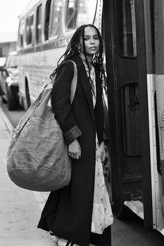 CLM - Photography - Josh Olins - Zoe Kravitz