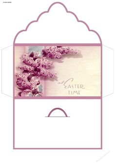 Easter flowers by Angela Wake this is a money or gift wallet for those hard to buy Easter gifts, a great item to sell at craft stores: this…