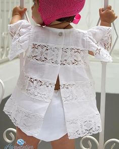 Toddler Outfits, Kids Outfits, Baby Gown, Heirloom Sewing, Baby Girl Dresses, Baby Girl Fashion, Cool Baby Stuff, Baby Sewing, Cute Girls