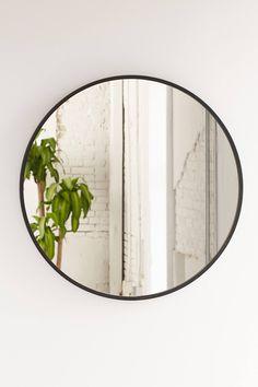 Umbra Oversized Hub Mirror from Urban Outfitters. Shop more products from Urban Outfitters on Wanelo. Mirrors Urban Outfitters, Circular Mirror, Decor Inspiration, Round Mirrors, Circle Mirrors, Round Bathroom Mirror, Oversized Round Mirror, Mirror Vanity, Round Wall Mirror