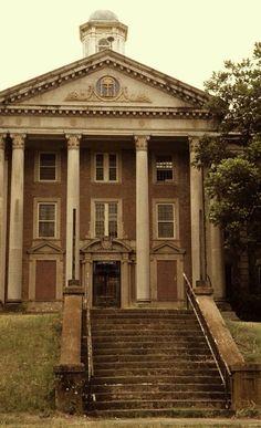 Central State Hospital in Milledgeville, GA near Atlanta. Former mental asylum.
