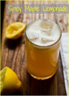 Spicy Maple Lemonade