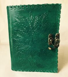 Leather Journal // Tree of Life Journal // Blank Leather
