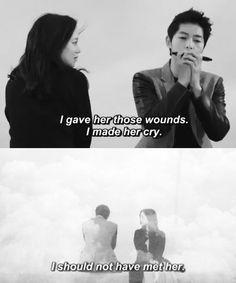 #Moon Chae Won #Song Joong Ki #Nice Guy # Innocent Man Park Si Yeon, Korean Drama Quotes, Moon Chae Won, Innocent Man, Song Joong Ki, Korean Star, Drama Movies, Korean Actors, A Good Man