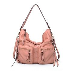 Urban Expressions Landen Handbag Vegan Leather Tote Bag French Rose on SALE $69.99 FREE SHIPPING. #UELanden #http://www.pinterest.com/BagMadness1/