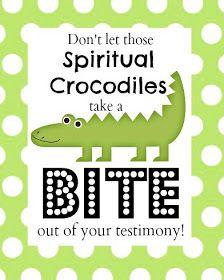 Spiritual Crocodiles Family Home Evening