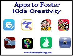 10 iPad Apps to Foster Kids Creativity ~ Educational Technology and Mobile Learning