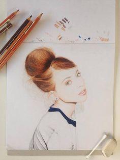 Portrait by Kate Pullen