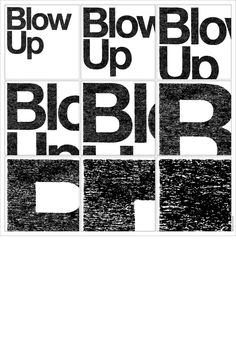 Experimental Jetset: Helvetica / Blow-Up for a poster exhibition 50 Years of Helvetica at Design Museum in London, 2007 below is a poster that didn& make it to the exhibition Graphic Design Studios, Graphic Design Posters, Graphic Design Typography, Graphic Art, David Carson Work, Posters Conception Graphique, Las Vegas, Experimental, Typographic Poster
