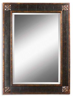 South Shore Decorating: Uttermost 14156 B Bergamo Vanity Traditional Rectangular Mirror UM-14156-B