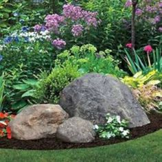 Amazing rock garden ideas to decorate your frontyard and backyard 19