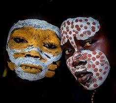 Africa   Surma children. Omo Valley, Ethiopia   ©Anthony Pappone.