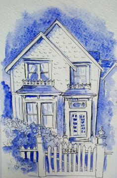 Jessica Fletcher's House on Murder She Wrote