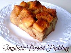 Southern | Cooking with K: Very Simplistic Bread Pudding {Granny's Recipe}