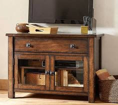 Benchwright TV Stand #potterybarn