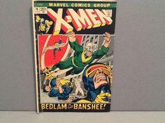 X Men Bedlam is the Banshee! Marvel comics June #76 #xman #bedlam #comic #TBT #throwbackthursday