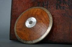 Olympic Style English Wooden Sports Discus Circa 1930's - Track & Field Discus by FanshaweBlaine on Etsy