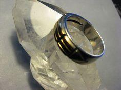 Online veilinghuis Catawiki: Sterling Atlantis ring met 14 kt goud gemerkt