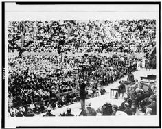 President Woodrow Wilson Speaking Greek Theater Berkeley California CA 1919 | eBay