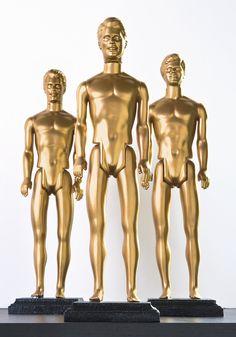 DIY Oscars From Ken Dolls - diycandy.com