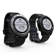 Buy best Outdoor Smart Sport GPS Waterproof Watch for Men and Women black sale online store at wholesale price. EU/US/CN warehouse.
