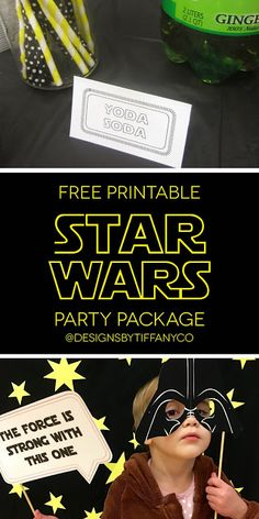 Literally days before I had my baby, I threw a birthday party for my husband! He's always been a Star Wars fan, but with the new movie coming out, there was more excitement to have a great party for h
