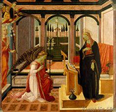 Fra Filippo Lippi - Verkündigung an Maria