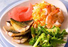 Assiette de la merVoir la recette de l'assiette de la mer