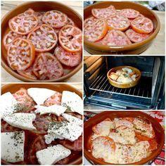 Provolone con tomate al horno de Galaicus Gourmet