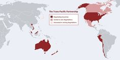 The Trans Pacific Partnership (TPP) is a trade deal being negotiated between the United States and 8 other countries | Why You Shouldn't Be Down With The Trans Pacific Partnership (TPP)