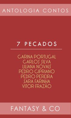 Antologia Contos '7 Pecados' - Fantasy & Co.