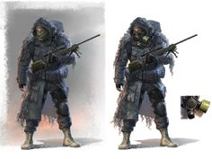 Character concept art - No Mutants Allowed Gallery