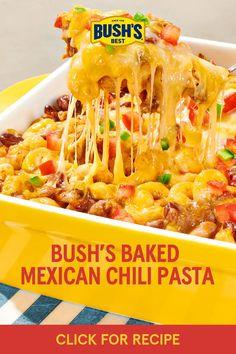 Beef Casserole Recipes, Meat Recipes, Mexican Food Recipes, Cooking Recipes, Chili Pasta, Pasta Dishes, Food Dishes, Mexican Chili, Mexican Dishes
