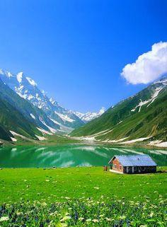 Saiful Muluk ~ an alpine lake in Kaghan Valley, near the town of Naran, Khyber-Pakhtunkhwa province of Pakistan.