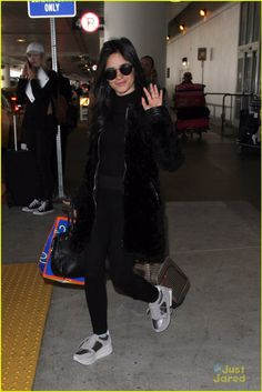 Camila arriving at LAX airport today