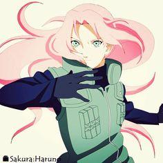 Long hair Sakura Haruno -  Naruto Shippuden